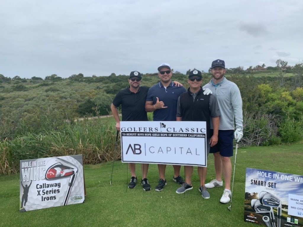 AB Capital was honored to serve as a silver sponsor of the 25th Annual Golfers Classic held at Pelican Hill Golf Club