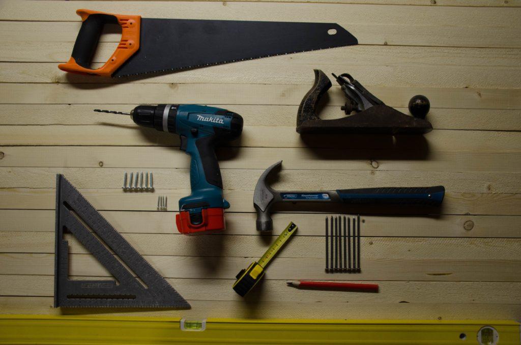 construction equipment tools